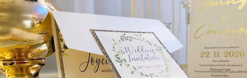 Handmade wedding invitations belfast