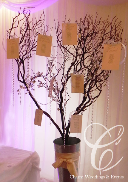 Tree Stand Designs Wood : Wedding wishing tree table centres candelabras
